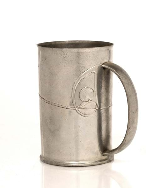 Archibald Knox for Liberty & Co pewter tankard Image