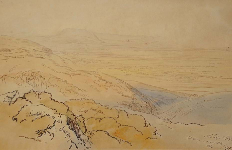 362 - The Island of Cerigo by Edward Lear Image