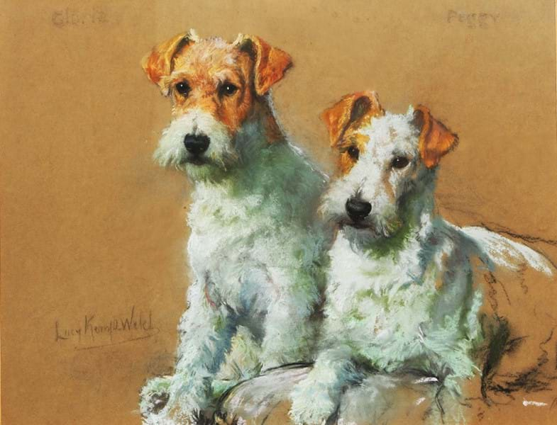 159 - Gloria and Peggy by Lucy Kemp-Welch Image